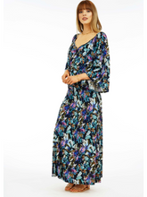 Load image into Gallery viewer, Floretta Bell Sleeve Maxi Dress