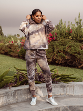 Load image into Gallery viewer, Grace Tie Dye Cropped Hoodie