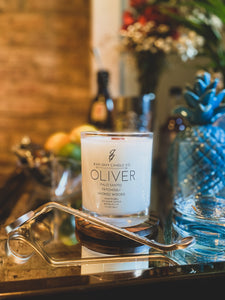 Oliver (Palo Santo-Patchouli-Smoked Woods) Soy Blend Candle