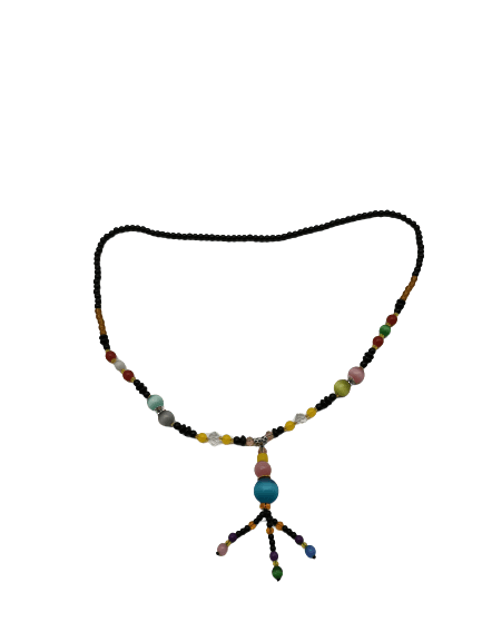 Nature agate necklace candy - luckacco
