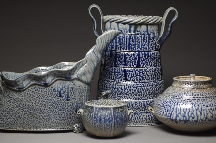 Salt Fired Pottery Gallery