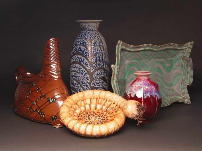 Reduction Fired Pottery Gallery