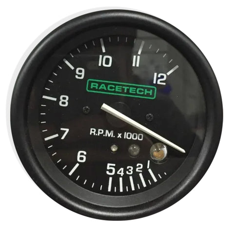 Tacometro Racetech 0-12000 Rpm Shift Light