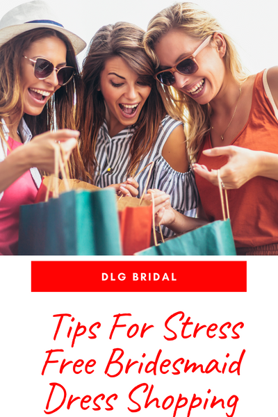 Tips For Stress Free Bridesmaid Dress Shopping