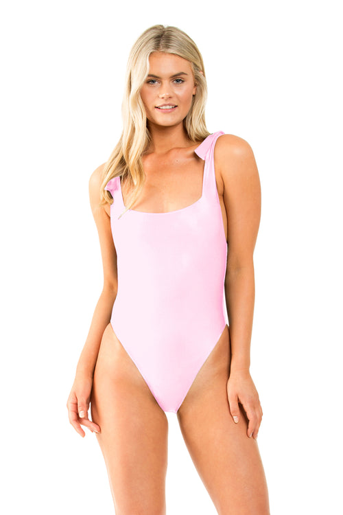 SUNSETS SQUARE NECK ONE PIECE