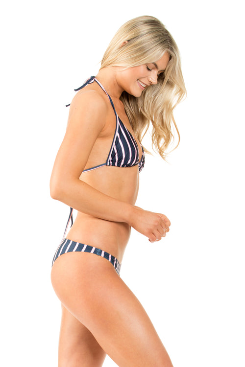 NAVY/PINK AUSTRALIAN CUT BOTTOM