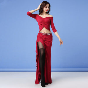 Very Dance Top & Skirt Set Lesson Wear Set W20209HY1213