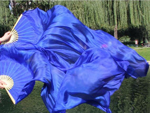 Monochromatic fan veil all 8 colors 120cm/150cm/180cm/210cm W-1608