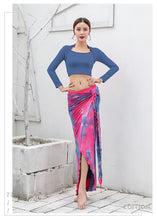 Load image into Gallery viewer, Belly Dance Long Skirt & Top Set Lesson Wearing Set