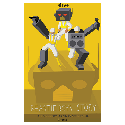 "Beastie Boys Story ""Robot"" Poster"