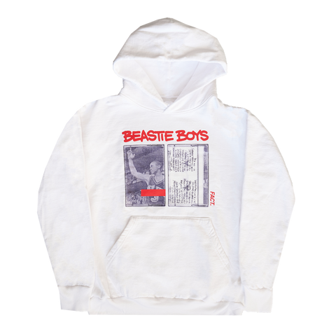 Cassette FACT White Hoodie