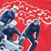 FACT X Beastie Boys Boombox Red T-Shirt