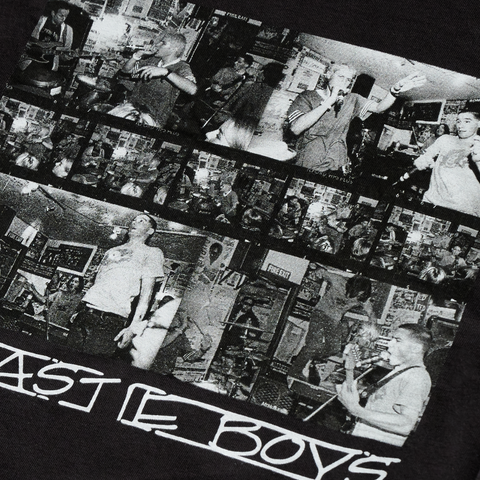 FACT X Beastie Boys Photos Black Long Sleeve T-Shirt