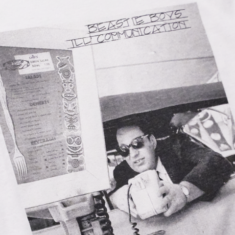 Ill Communication White Long Sleeve T-Shirt