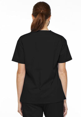 Dickies Women's EDS Signature V-Neck Scrub Top.
