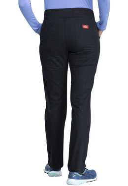 Dickies Women's Mid Rise Tapered Leg Pull-on Pant