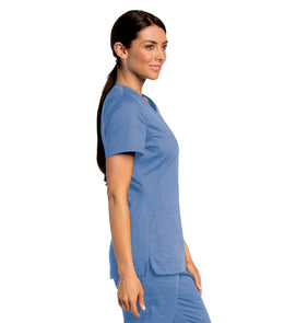 Landau All Day Y-Neck Scrub Tunic 4143