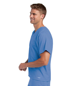 Landau Unisex V-Neck Scrub Top