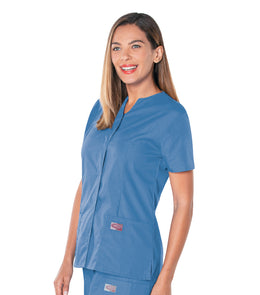 Scrubzone Women's Snap-Front Top