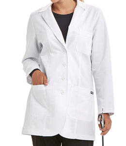 Greys Anatomy Women's Signature 35 IN 2 Pocket Stretch Lab Coat