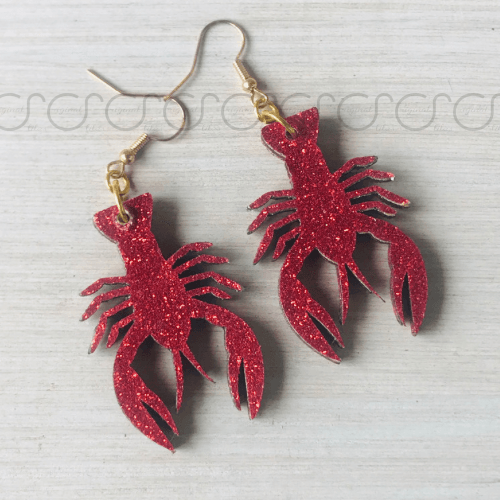 Louisiana Crawfish Earrings