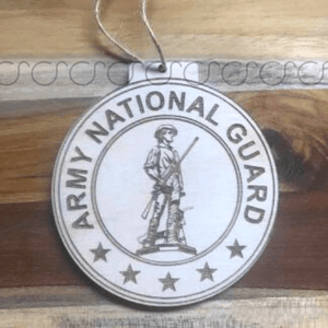 Army National Guard Military Ornament