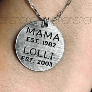 Mother/Grandmother Necklace