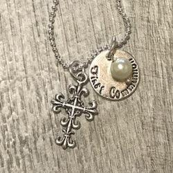 Girl First Communion Necklace
