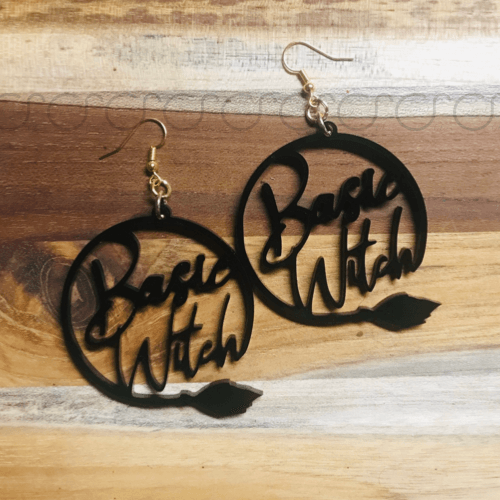 Basic Witch earrings
