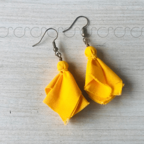 Penalty Flag Earrings