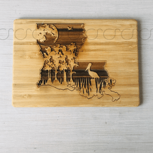 Louisiana swamp Cutting Board