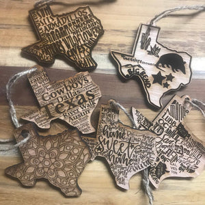 Texas Ornament Bundle