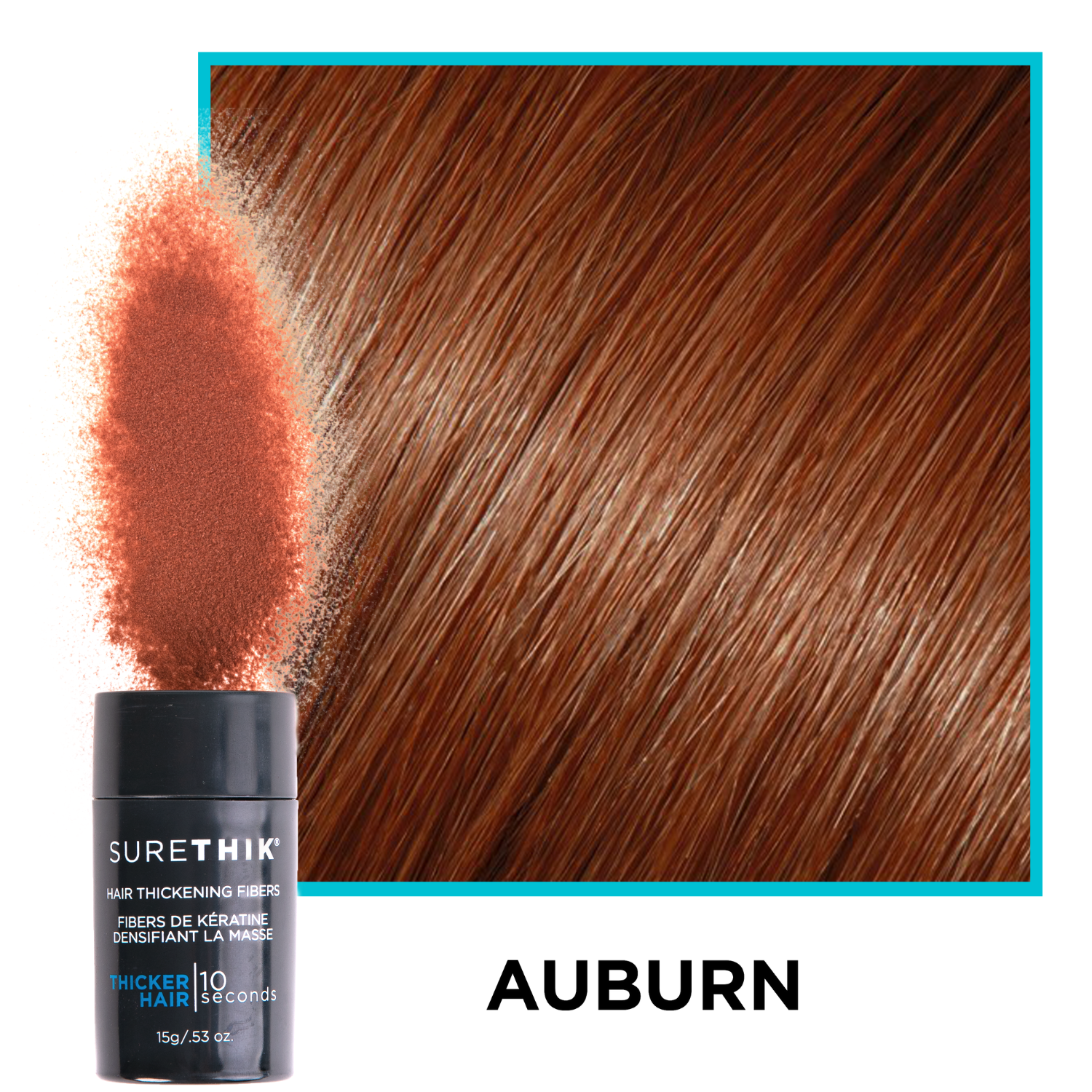 SureThik® Hair Thickening Fibers (15g / 0.53oz) - 12% Savings
