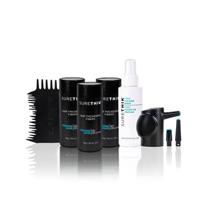 Hair Fiber Value Package - With Application Tools