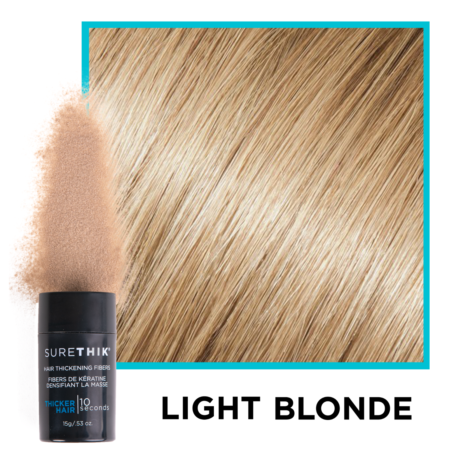 Hair Thickening Fibers (15g / 0.53oz) - Limited Time Offer