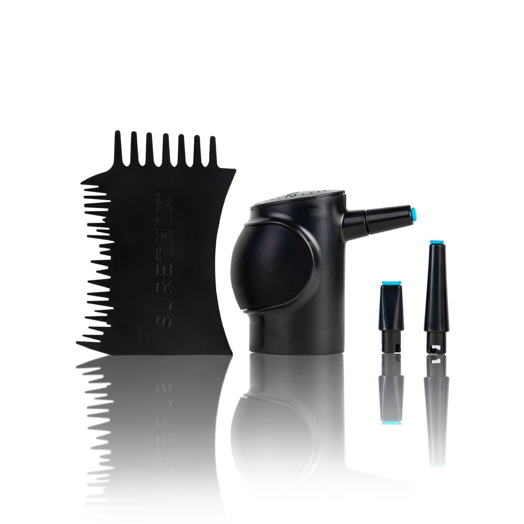 Twist-On Pump Applicator & Hairline Applicator Comb