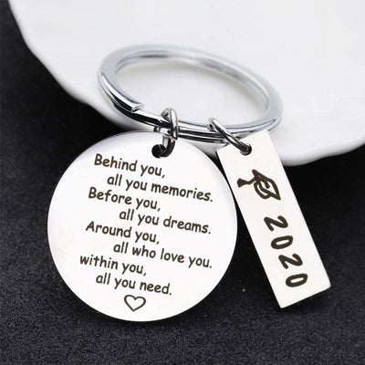 Sunsetime™ 2020 GRADUATION KEYCHAIN