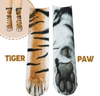 Flurry 3D Animal Paw Socks-[ONE SIZE FITS ALL]