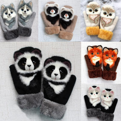 Cute Animal Mittens