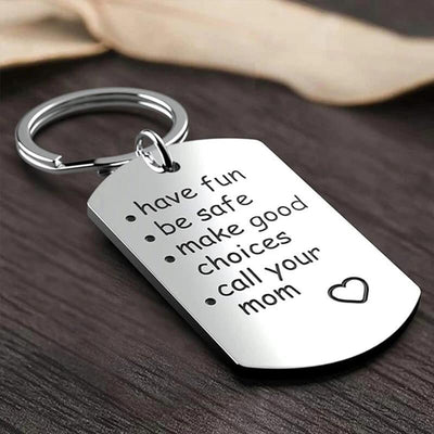 Gifts For Boys Girls Stainless Steel Keychain