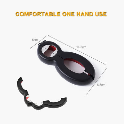 6 in1 Multifunctional Bottle Opener