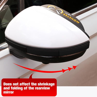 Rear View Car Mirror Rain Cover (1 pair)