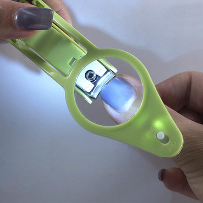 LED Light Magnifier Nail Clippers