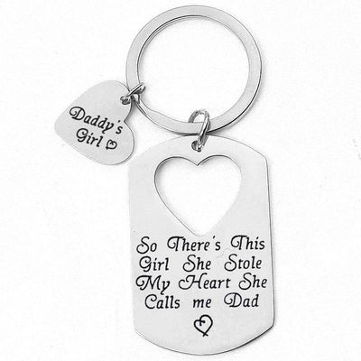 Daddy's Girl - Necklace&Keychain Set