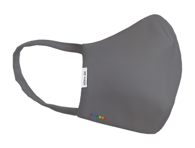 LIMITED EDITION: Pride Parade LGBT Grey Rainbow Technical Mask
