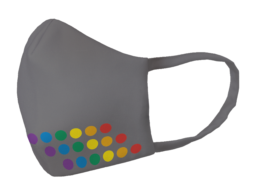 LIMITED EDITION: Pride Parade LGBT DOTS Technical Mask