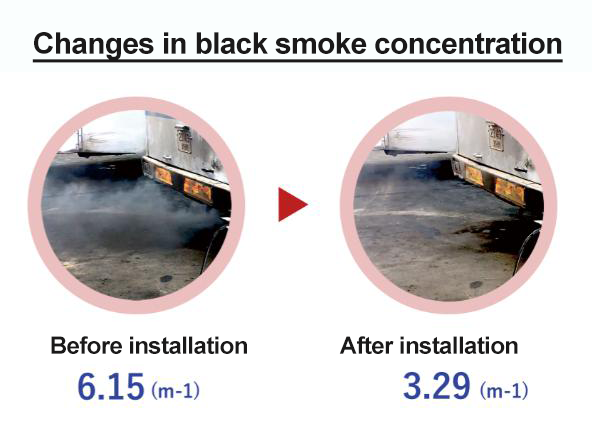 black smoke test