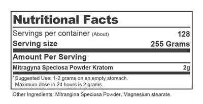 Container 9oz Nutrition Facts