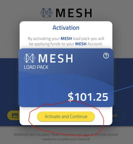 MESH Payment Step 4