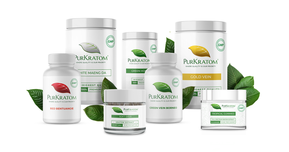 PurKratom Products Collection
